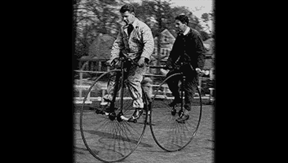 Historical Bicyclist