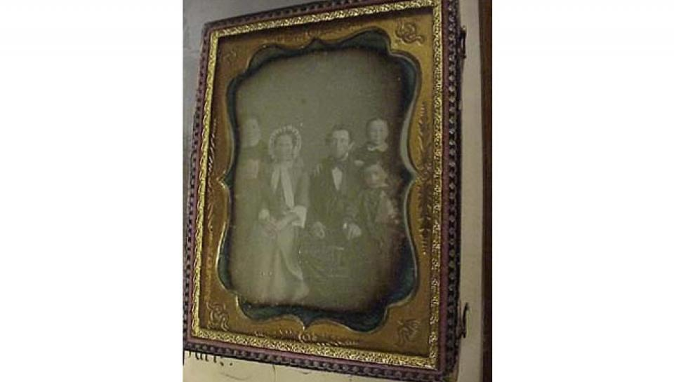 Photo of Daguerreotypes.