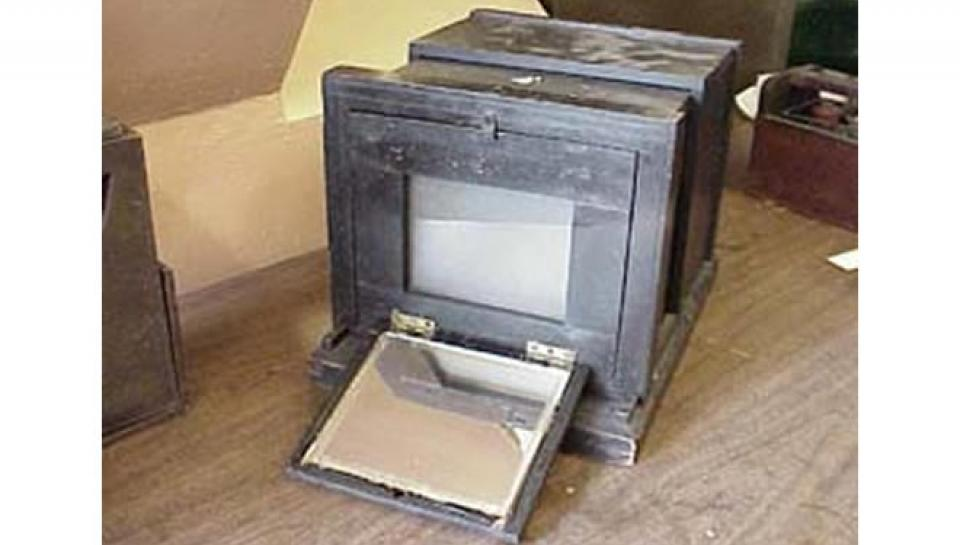 Photo of Daguerreotype Photo Equipment.
