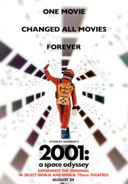2001: A Space Odyessy Movie Poster