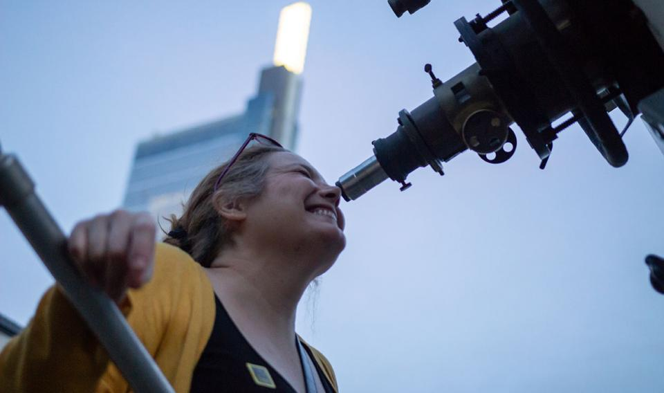 Evenings at The Franklin Institute - Enjoy Summer Evenings at the Rooftop Observatory