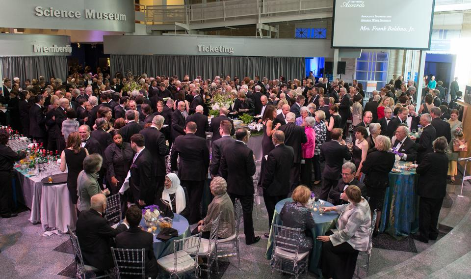 Guests at The Franklin Institute Awards and Dinner