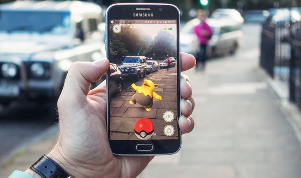 Augmented Reality Pokemon on the Street