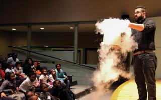 Live Science Show at the Franklin Institute