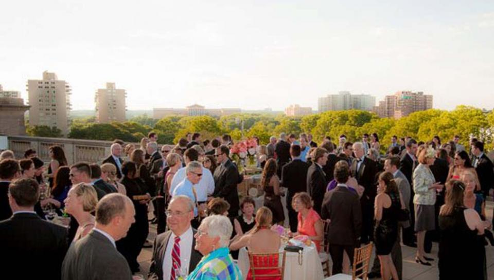 Events on the Rooftop Deck