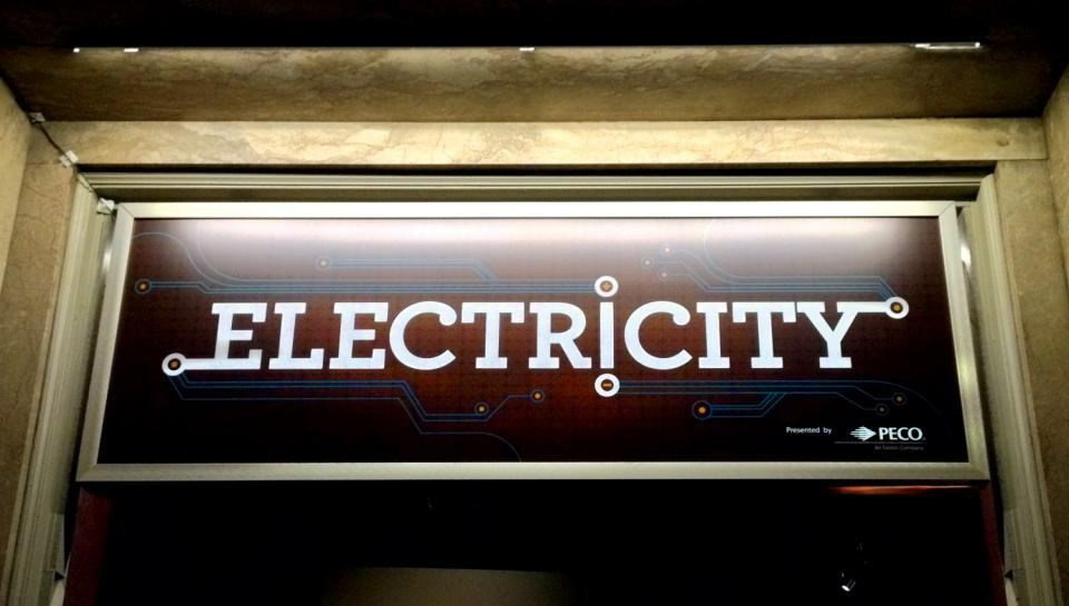Electricity was made possible by the Institute's Proud Corporate Partner, PECO.